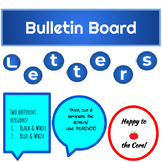 Bulletin Board (Circle) Letters