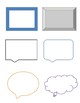 Bulletin Board, Classroom Board, Activity Shapes, Frames, Scrolls, Numbers, etc.