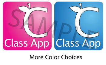 Bulletin Board - Class App icons