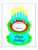 Bulletin Board Classroom Management Birthdays Name Birthdate Small Large 4 pages