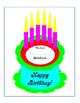Bulletin Board Classroom Management Birthdays Name Birthda