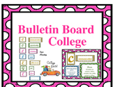 Bulletin Board- College. Ready to use! SALE