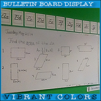 Cursive Letters of the Alphabet for your Classroom!