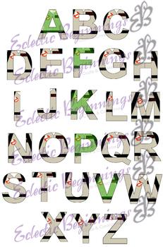 Bulletin Board Decor-Ghostbusters Letters
