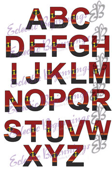 Bulletin Board Decor-Incredibles Letters Alphabet