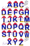 Bulletin Board Decor-Paddington the Bear Letters Alphabet