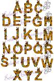 Bulletin Board Decor-Scooby Doo Letters Alphabet