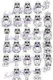 Bulletin Board Decor-Storm Trooper Letters