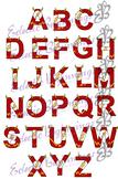 Bulletin Board Decor-The Flash Alphabet Letters