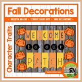 Bulletin Board   |   Decorations  |  Character Traits  |