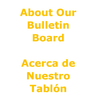 Bulletin Board Description with Spanish Translation