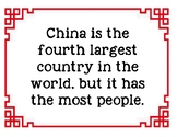 Bulletin Board Facts About China