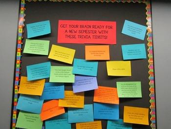 Bulletin Board - Fun Facts