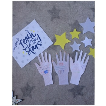 Bulletin Board Goals Display - Reach for the Stars
