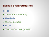 Bulletin Board Guidelines