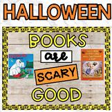 Bulletin Board Halloween October Books
