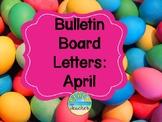 Easter Themed Bulletin Board Headers