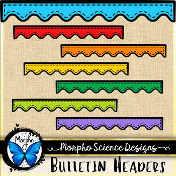 Bulletin Board Headers - Clipart Set