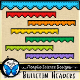 Bulletin Board Headers - Clipart Set