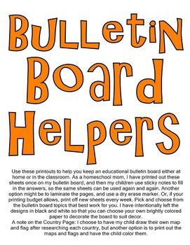 Bulletin Board Helpers