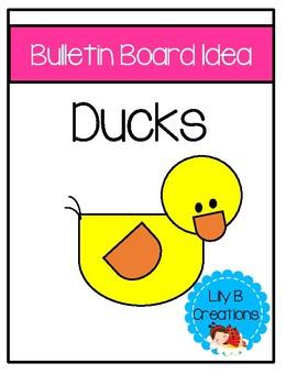 Bulletin Board Idea - Ducks