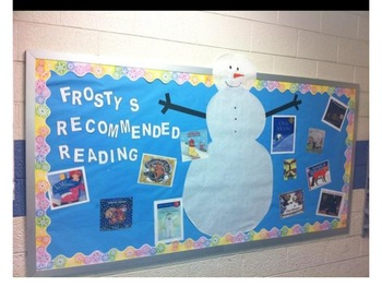 Bulletin Board Ideas--Frosty's Recommended Reading