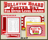 Bulletin Board Poster Set for Upper-Level Grades