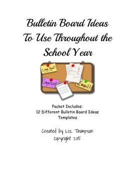 Bulletin Board Ideas to Use Throughout the Year