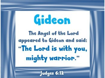 Bulletin Board: Judges (Bible based)