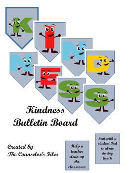 Bulletin Board KINDNESS Ready to Use!