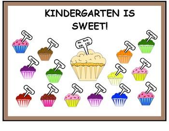 Bulletin Board-Kindergarten Is Sweet!