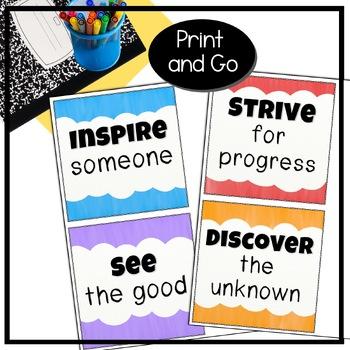Bulletin Board Kit: 180 Days of School Opportunities