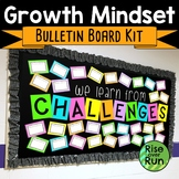 Growth Mindset Bulletin Board Kit: We Learn from Challenges