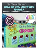 "Bulletin Board Kit - ""How Do You Like These Apples?"""