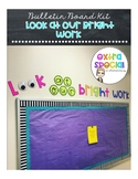 Bulletin Board Kit - Look at Our Bright Work