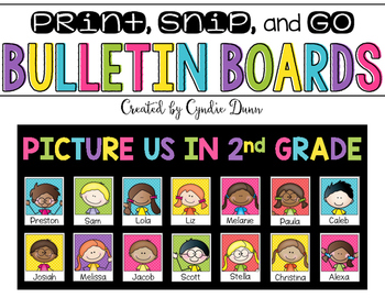 Bulletin Board Kit: Picture Us Back to School