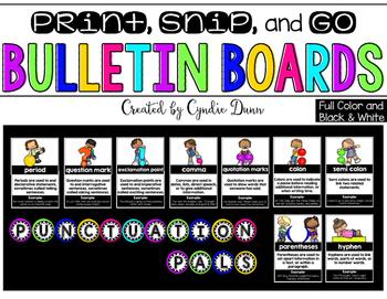 Bulletin Board Kit: Punctuation