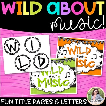 Bulletin Board Kit: Wild About Music! Set 3, Parts of the Grand Staff