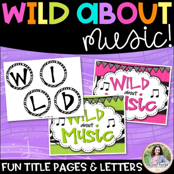 Bulletin Board Kit: Wild About Music! Set 4: Dynamics