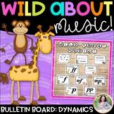 Bulletin Board Kit: Wild About Music! Set 4: Dynamics