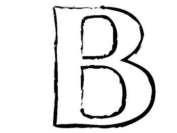 Bulletin Board Letter Cutout