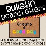 Bulletin Board Letters!!