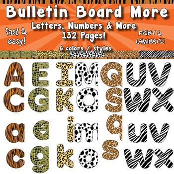 """Bulletin Board Letters - 4"""" APT-001"""