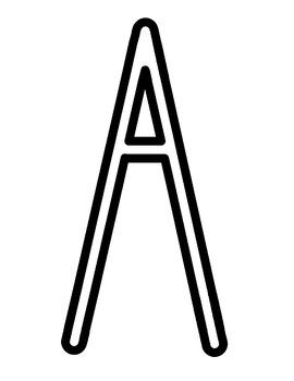 Bulletin Board Letters A-Z AG FRI-NALLY