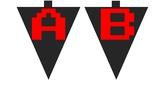 Bulletin Board Letters - Arcade Style