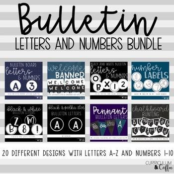 Bulletin Letters BUNDLE
