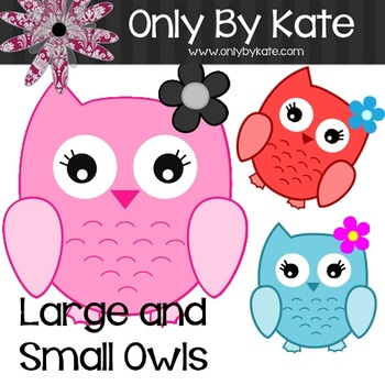 Bulletin Board Letters, Baby Owls, Print Your Own