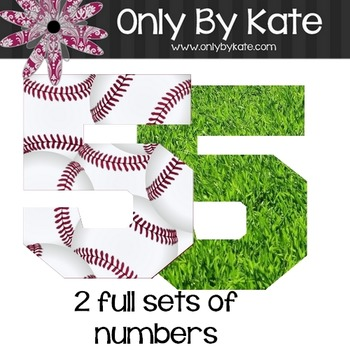 Bulletin Board Letters, Ball Park, Print Your Own