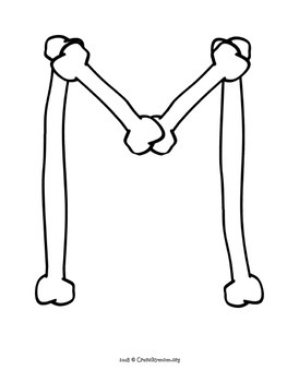 Bulletin Board Letters | Bones