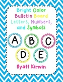 Bulletin Board Letters: Bright Colors